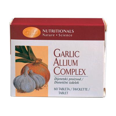 Garlic allium complex gnld naturaplus for Aglio porro